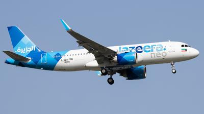 F-WWIF - Airbus A320-251N - Jazeera Airways