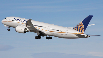 N26902 - Boeing 787-8 Dreamliner - United Airlines