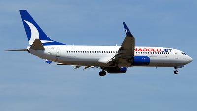 A picture of TCJFK - Boeing 7378F2 - Turkish Airlines - © Hugo Schwarzer