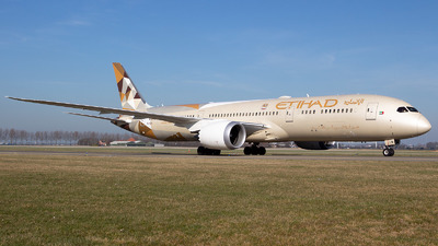 A6-BLR - Boeing 787-9 Dreamliner - Etihad Airways
