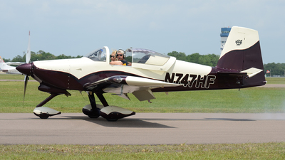 N747HF - Vans RV-7A - Private