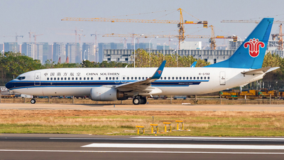 B-5192 - Boeing 737-81B - China Southern Airlines