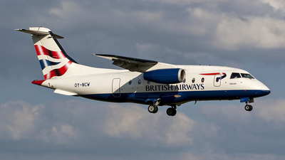 OY-NCW - Dornier Do-328-310 Jet - British Airways (Sun-Air)