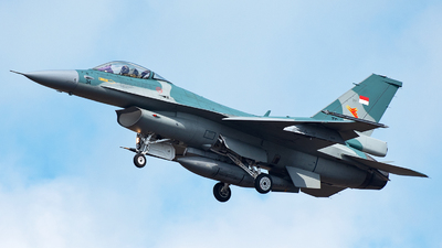 TS-1634 - General Dynamics F-16C Fighting Falcon - Indonesia - Air Force