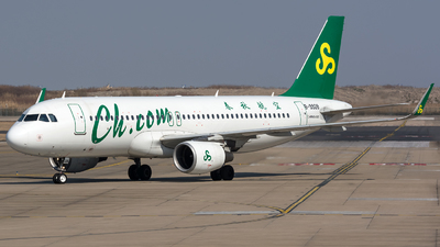 A picture of B9928 - Airbus A320214 - Spring Airlines - © BobH