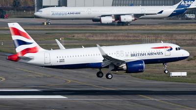 F-WWBD - Airbus A320-251N - British Airways
