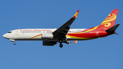 A picture of B5371 - Boeing 73784P - Hainan Airlines - © Li Youyang