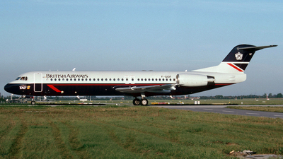 F-GIOF - Fokker 100 - British Airways