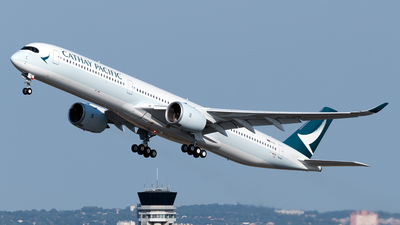F-WZGW - Airbus A350-1041 - Cathay Pacific Airways