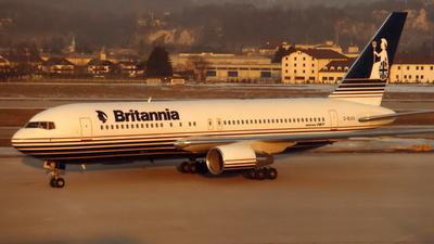 G-BLKV - Boeing 767-204 - Britannia Airways