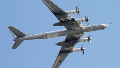 RF-94117 - Tupolev Tu-95 Bear - Russia - Air Force