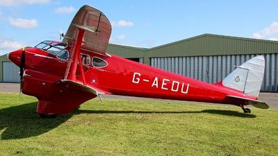 G-AEDU - De Havilland DH-90 Dragonfly - Private