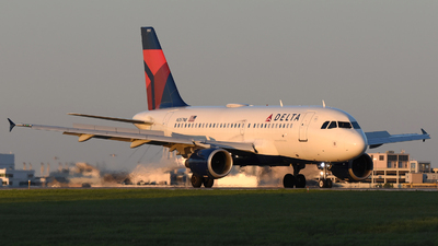 A picture of N357NB - Airbus A319114 - Delta Air Lines - © DJ Reed - OPShots Photo Team
