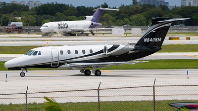 A picture of N840BM - Cessna 650 Citation VII - [6507118] - © Eric Page Lu