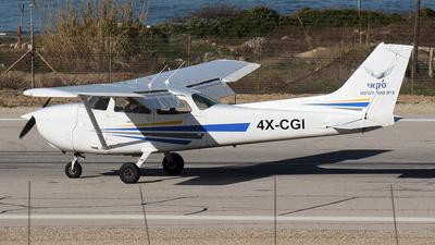 4X-CGI - Cessna 172M Skyhawk - Sky Aviation