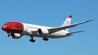 LN-LND - Boeing 787-8 Dreamliner - Norwegian