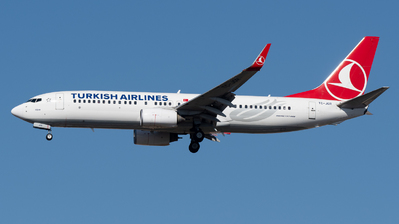 TC-JGR - Boeing 737-8F2 - Turkish Airlines