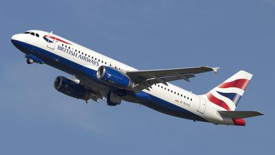 G-EUYL - Airbus A320-232 - British Airways