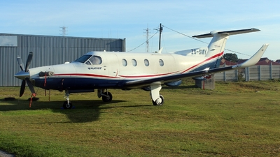 ZS-SMY - Pilatus PC-12/45 - Private