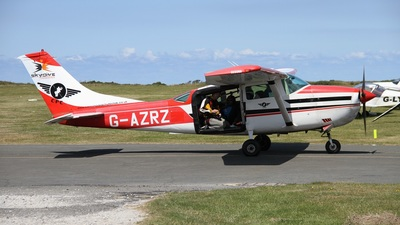 G-AZRZ - Cessna U206F Stationair - Private