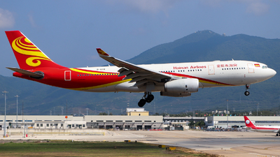 A picture of B6118 - Airbus A330243 - Hainan Airlines - © GZH