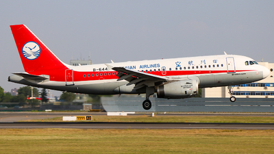 B-6447 - Airbus A319-133 - Sichuan Airlines