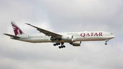 A7-BEH - Boeing 777-3DZER - Qatar Airways