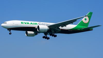 B-16781 - Boeing 777-F5E - Eva Air Cargo