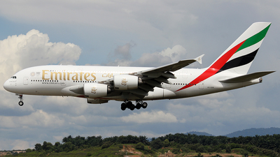A6-EDR - Airbus A380-861 - Emirates