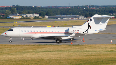 C-GPPX - Bombardier BD-700-1A10 Global Express - Private