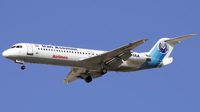EP-AST - Fokker 100 - Iran Aseman Airlines