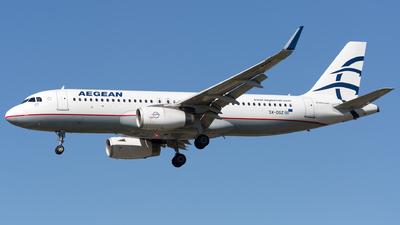 SX-DGZ - Airbus A320-232 - Aegean Airlines