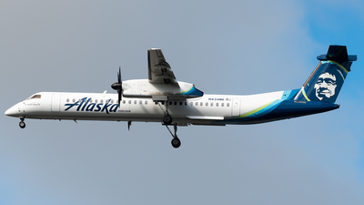A picture of N434MK - De Havilland Canada Dash 8400 - Alaska Airlines - © Nick Sheeder