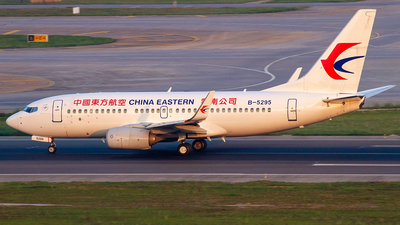B-5295 - Boeing 737-79P - China Eastern Airlines
