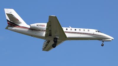 N315QS - Cessna 680 Citation Sovereign - NetJets Aviation