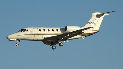 CN-SRA - Cessna 650 Citation VII - Sarah Airways