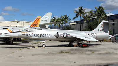 56-0817 - Lockheed F-104C Starfighter - United States - US Air Force (USAF)