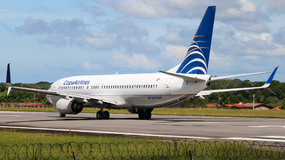 HP-1852CMP - Boeing 737-8V3 - Copa Airlines