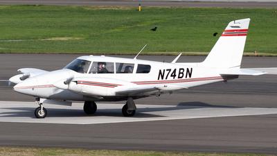N74BN - Piper PA-30-160 Twin Comanche C - Private