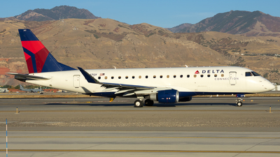 A picture of N247SY - Embraer E175LR - Delta Air Lines - © Michael Rodeback