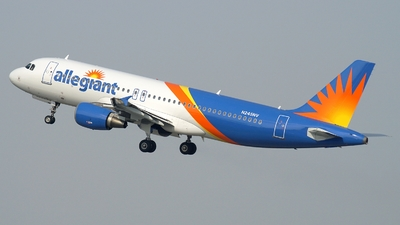 N245NV - Airbus A320-214 - Allegiant Air