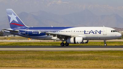 CC-CQO - Airbus A320-233 - LAN Airlines