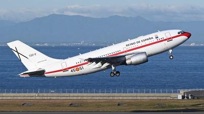 T.22-2 - Airbus A310-304 - Spain - Air Force