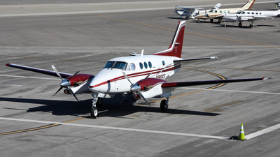 N190EF - Beechcraft C90 King Air - Private