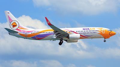 HS-DBX - Boeing 737-88L - Nok Air