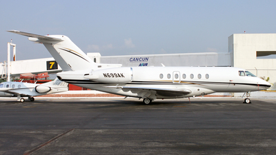 N699AK - Raytheon Hawker 4000 Horizon - Private
