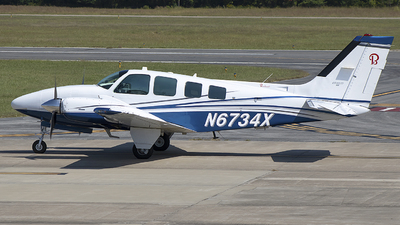 N6734X - Beechcraft 58 Baron - Private