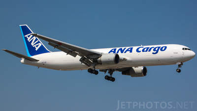 A picture of N771QT - Boeing 767381F(ER) - [33404] - © coyo_xiao