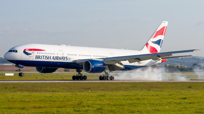 G-YMMN - Boeing 777-236(ER) - British Airways