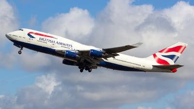 G-BYGF - Boeing 747-436 - British Airways